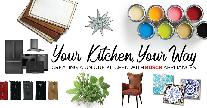 Your Kitchen Your Way Creating A Unique Kitchen With Bosch