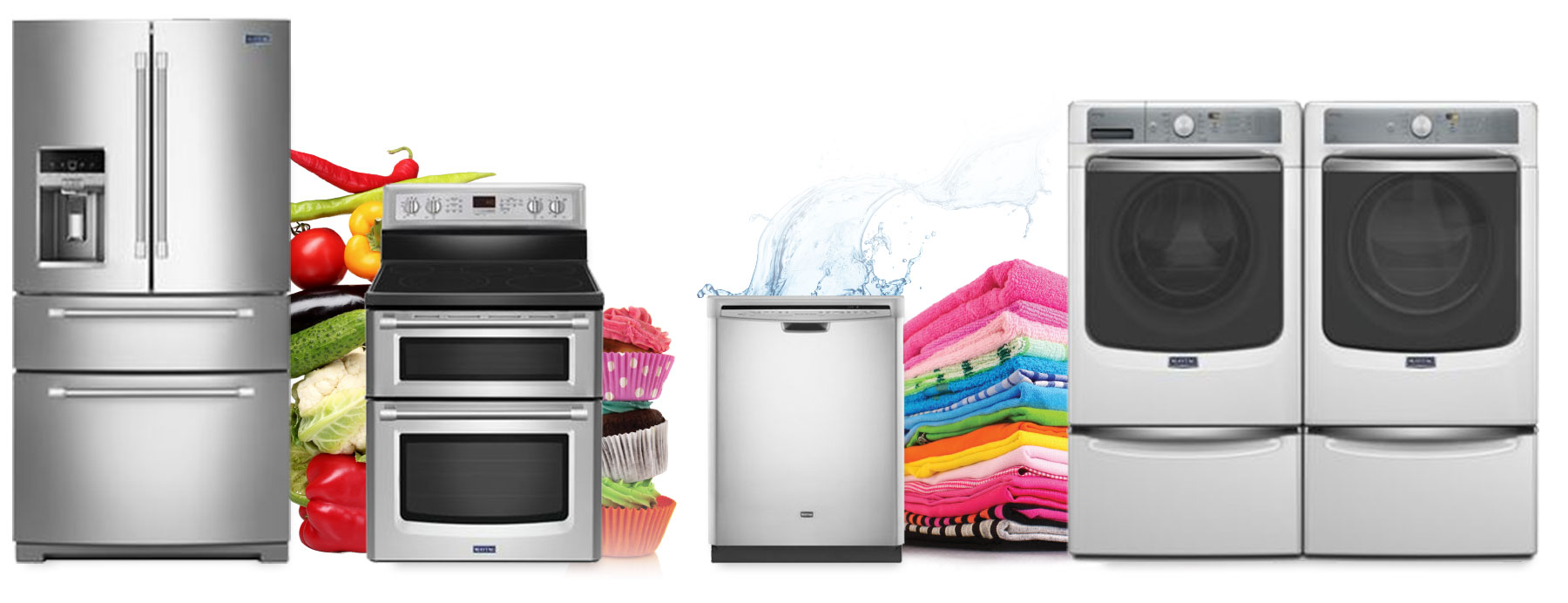 We have parts for most major brand appliances