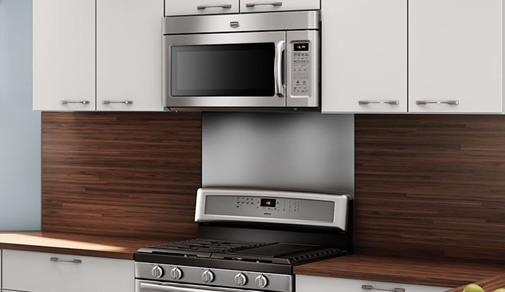 Kitchen Microwave Placement Options Luecke Audio Video Appliances