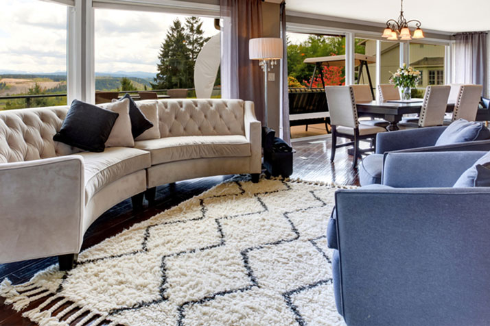 The Right Way To Choose An Area Rug