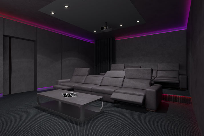 Ideal Home Theater Lighting