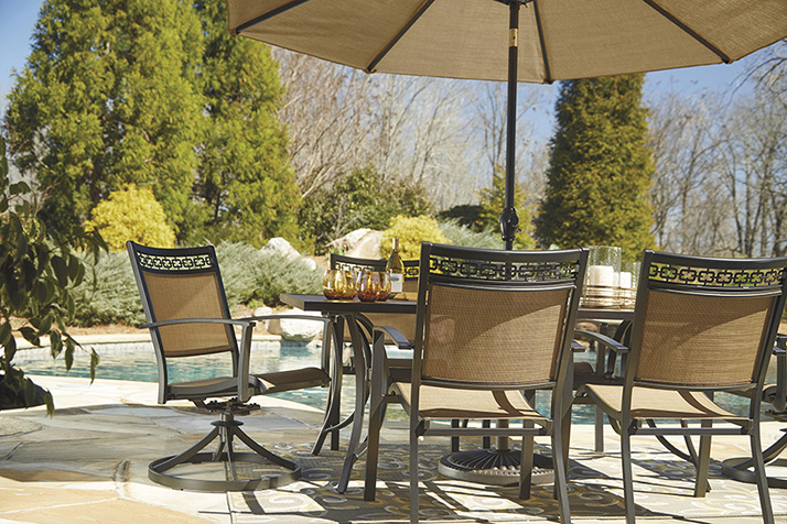 Ashley Patio Set