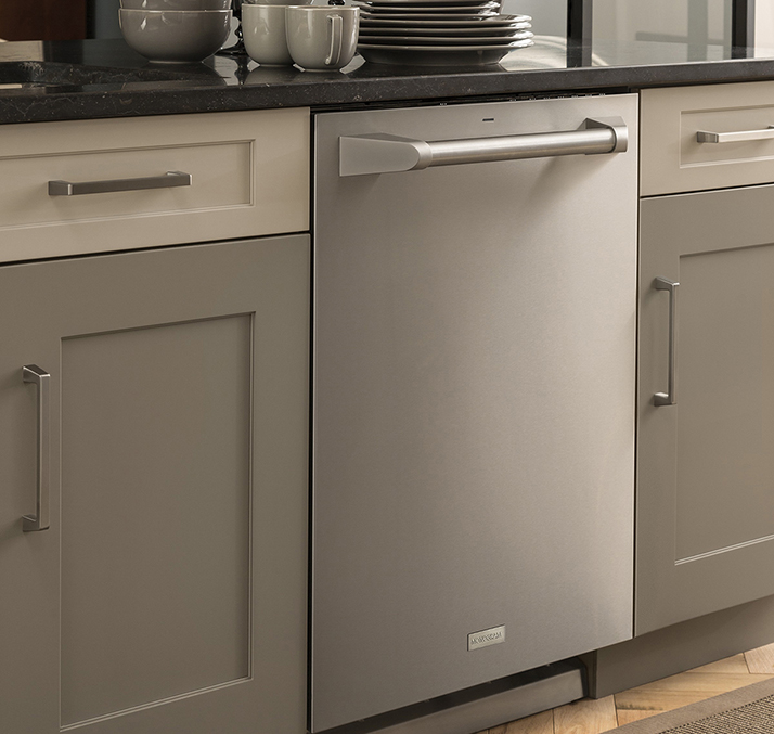 Achieve Quality Clean with GE Monogram Fully Integrated Dishwashers