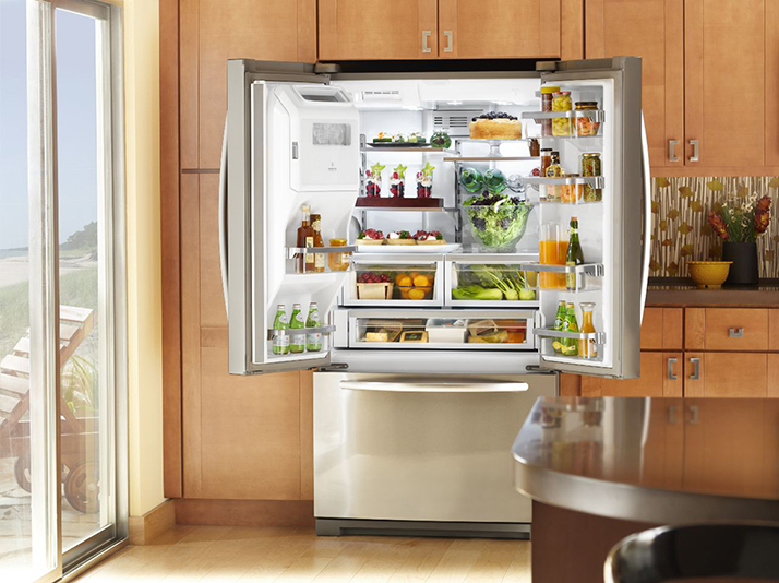Take Control Over Your Kitchen with the KitchenAid French Door Refrigerator