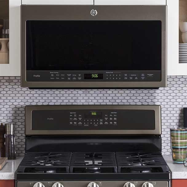 GE Slate Kitchen Appliances