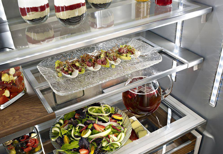 KitchenAid Adjustable Refrigerator Shelving