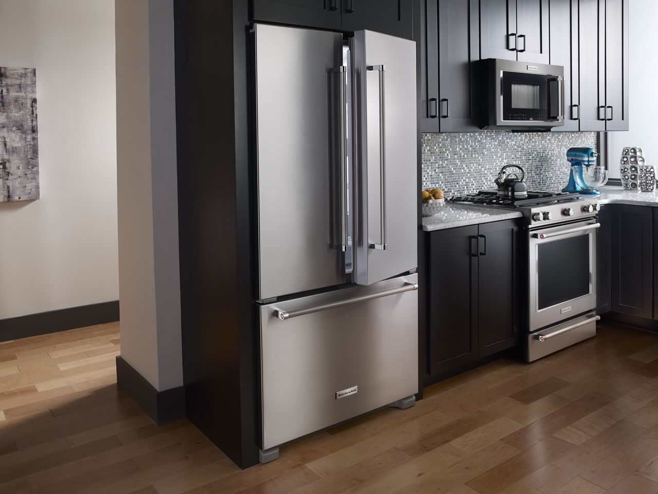 Enjoy The Beauty Of Kitchenaid Stainless Steel Home Appliances