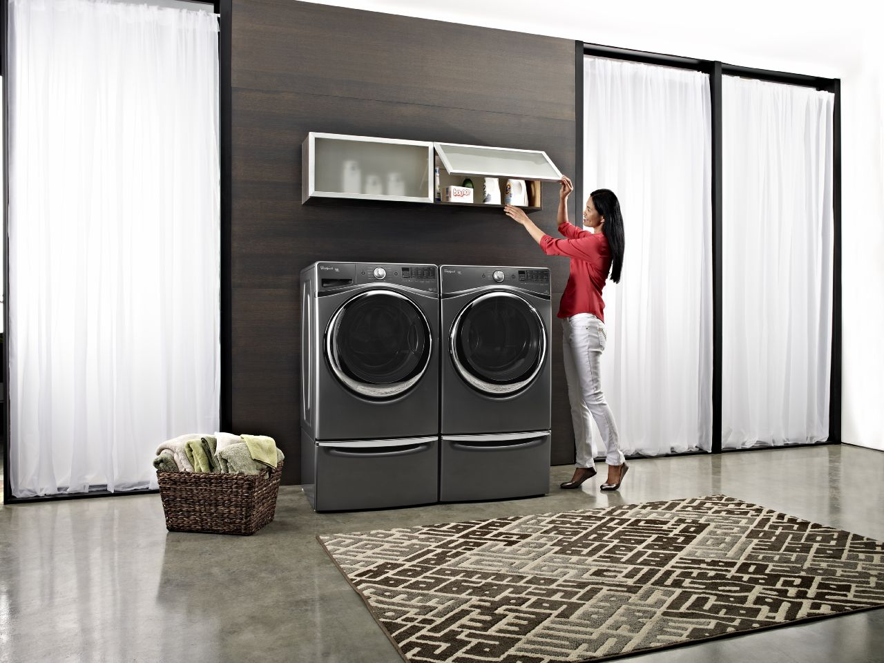 Whirlpool Laundry Features