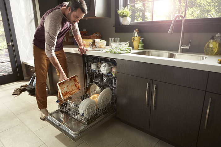 Get Cleaner Dishes with a Whirlpool Dishwasher