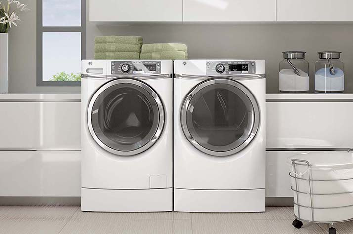 For the Best in Laundry Appliances Choose GE