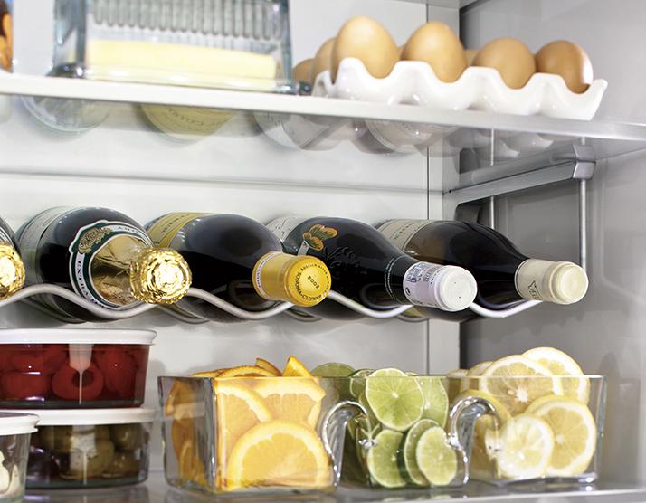 Monogram Refrigerator Organization
