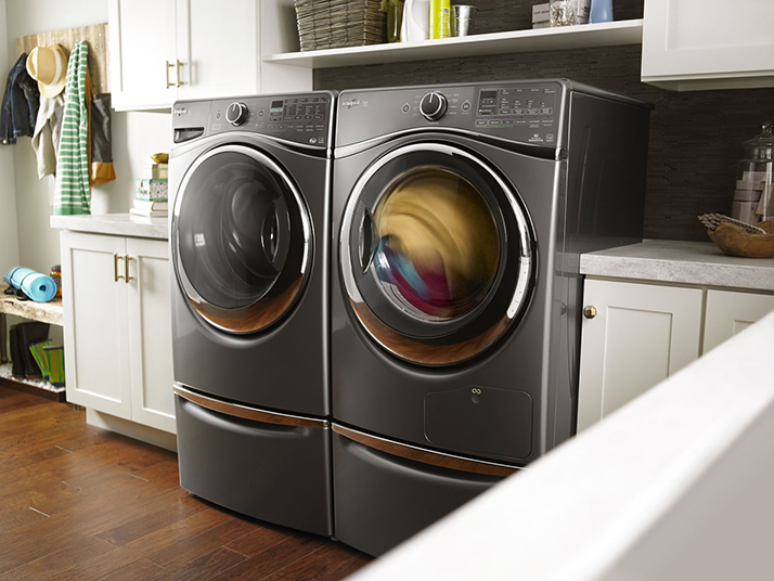 The Whirlpool HybridCare Dryer