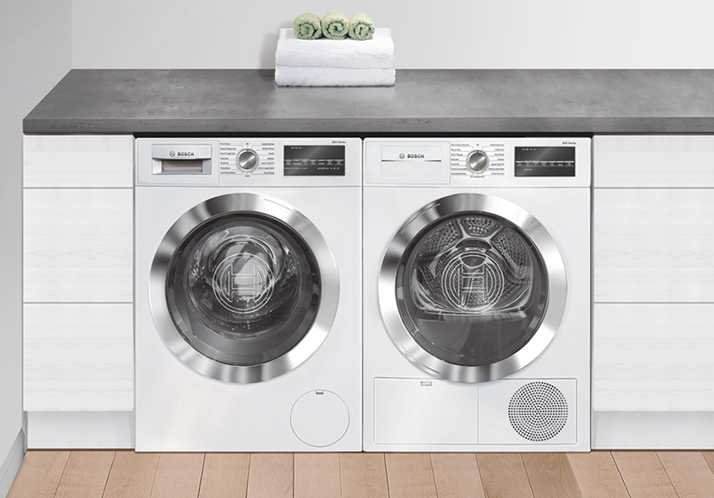 Live Efficiently with a Bosch Compact Condensation Dryer