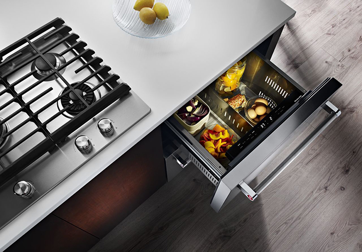 Class up Your Kitchen with a KitchenAid Refrigerator Drawer