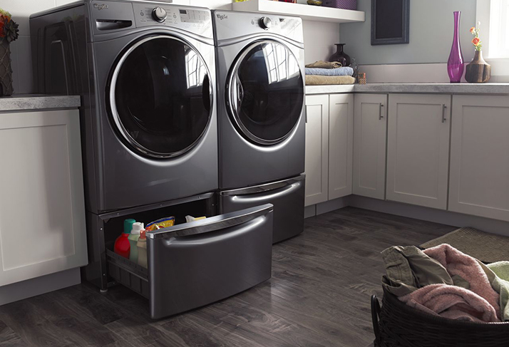 Make Laundry Day Easier with a Whirlpool Laundry Pedestal