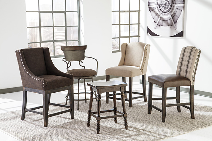 Jazz up Your Dining Room with a Moriann Bar Stool by Ashley Furniture