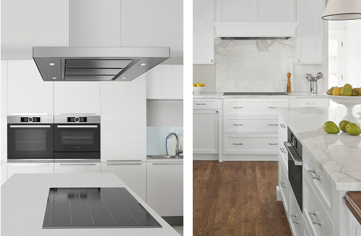 The Modern and Classic Bosch Ventilation Hoods