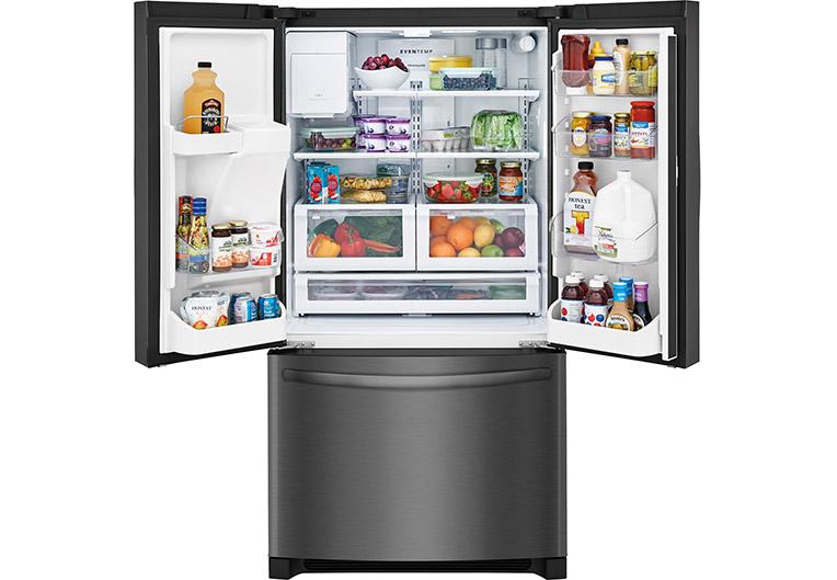 Fresh Food with Frigidaire Refrigerators