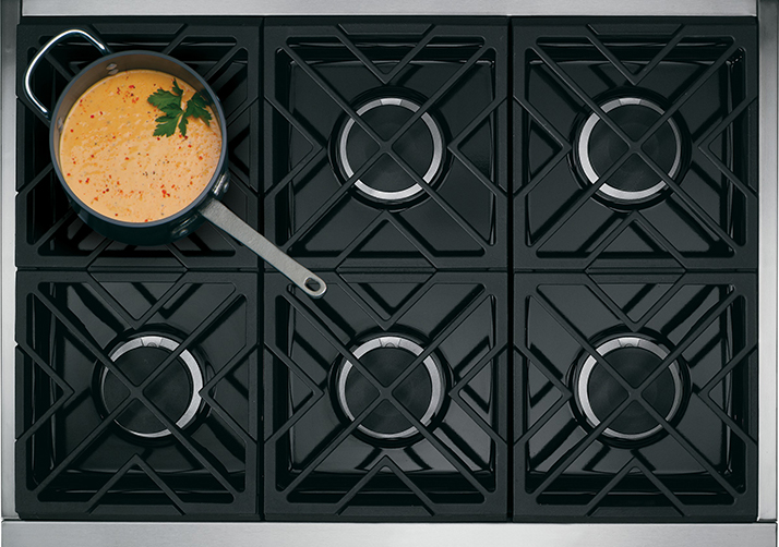 Heat Up Your Kitchen with a Monogram Cooktop