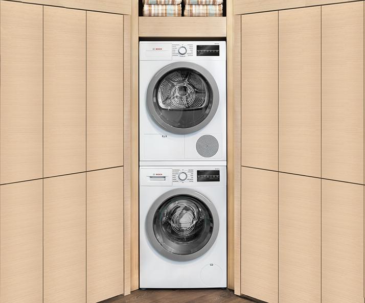 Introducing the Bosch Compact Washing Machine