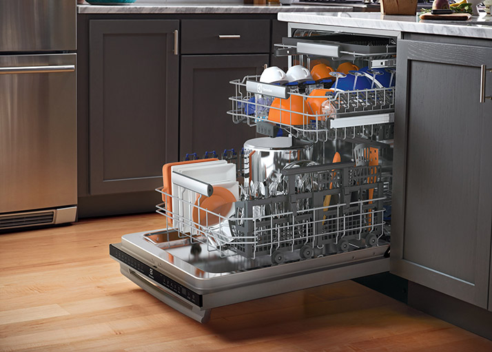 Explore the Features of an Electrolux Dishwasher
