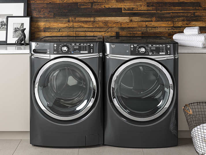 Featuring the GE Front Load Washer