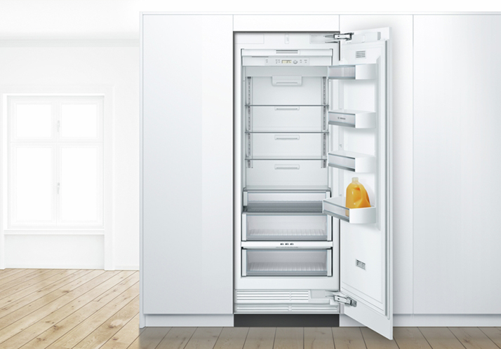 The Sophistication of a Bosch Built-In Refrigerator