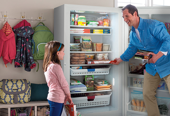 Frigidaire Does Freezers Right