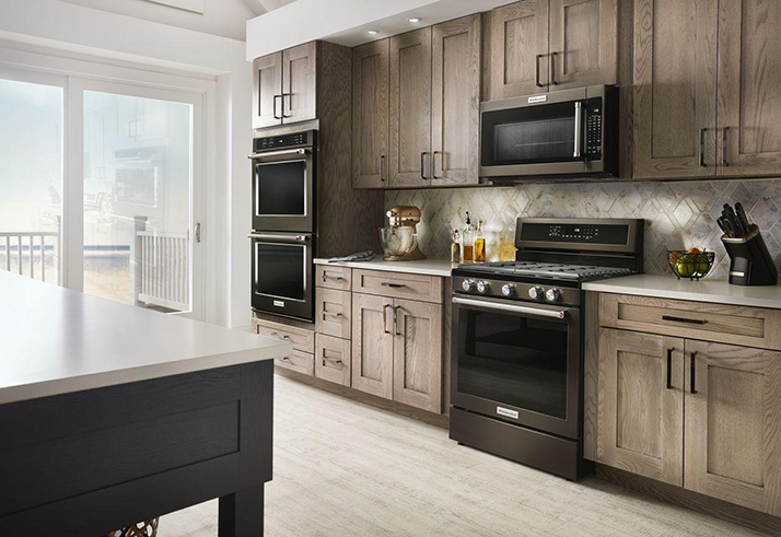 KitchenAid Black Stainless Steel Will Take Your Breath Away ...