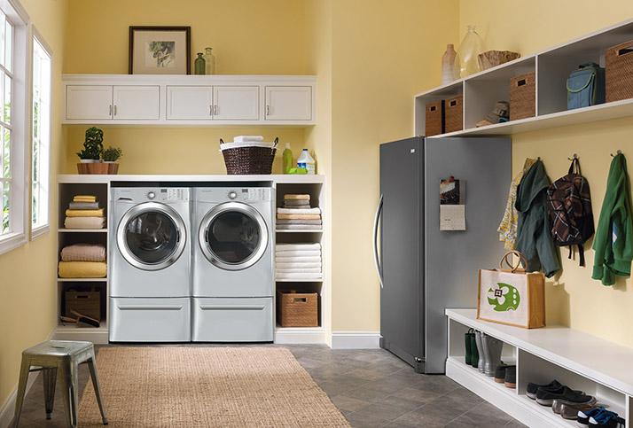 Frigidaire Front Load Washing Machines