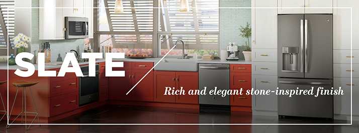 Find the Best with GE Slate Appliances