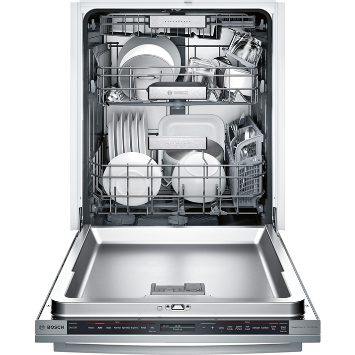 Bosch Dishwasher with the MyWay Rack