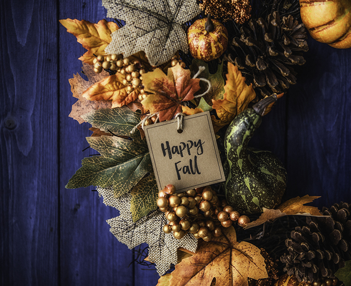 Plan Ahead and Start Making Those Autumnal and Halloween Wreaths