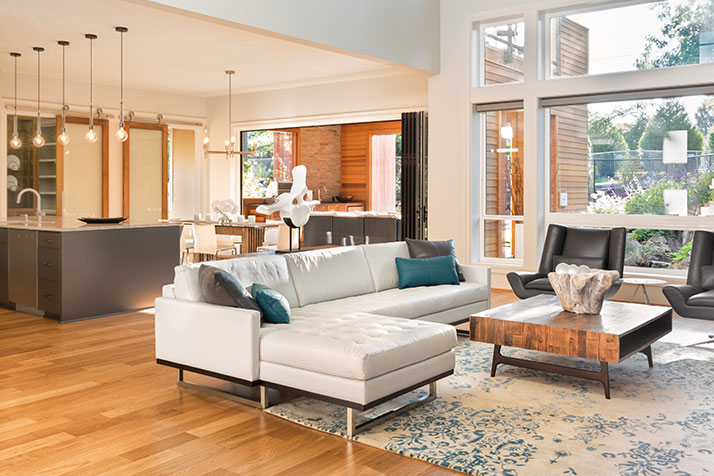 How To Break Up A Large Living Room