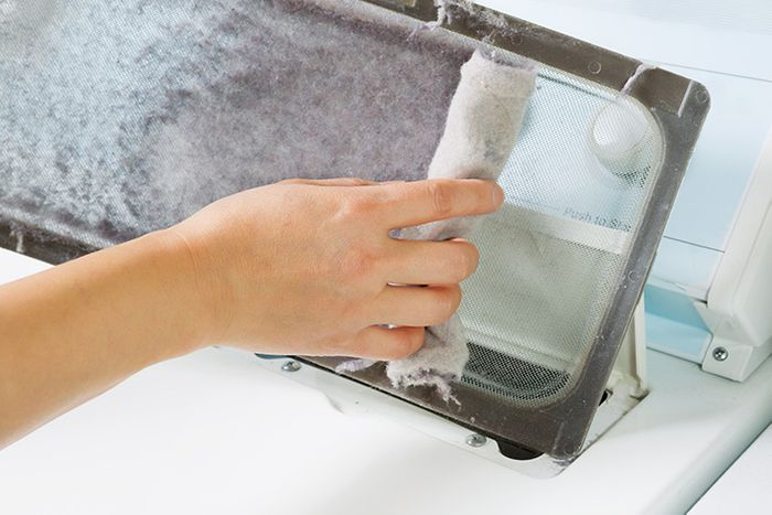 Clean Your Dryer Lint Filter and Save Money