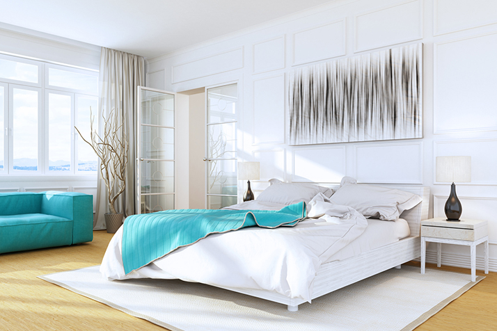 Dress Up a Bedroom? Why Yes! How to Style Your Bedroom