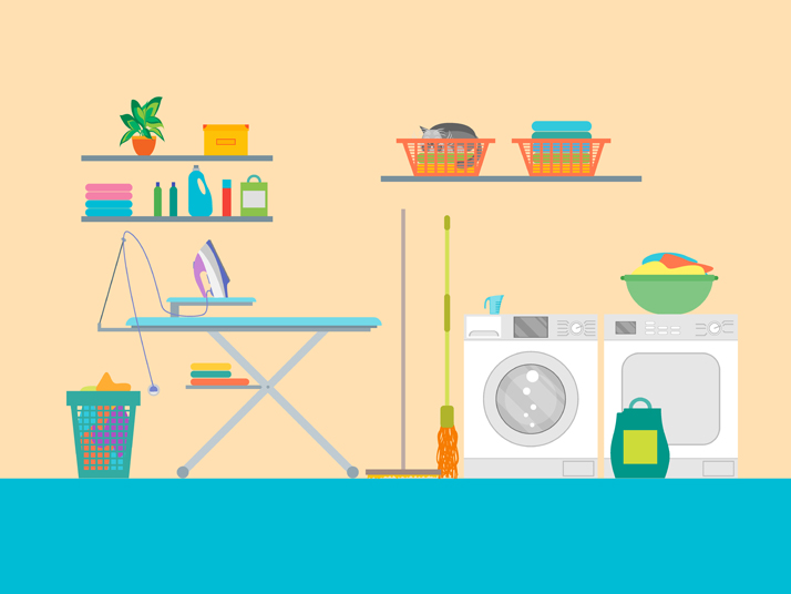 Spruce Up Your Laundry Room with These Tips