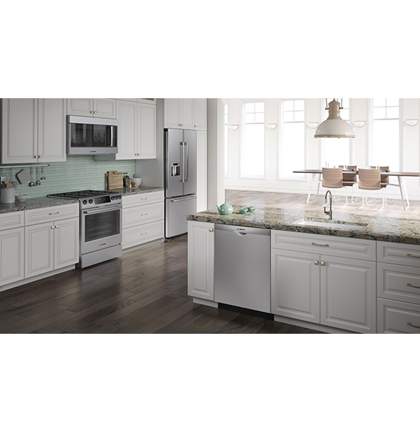 Bosch Black Stainless Steel Vs  Stainless Steel South Bend, IN