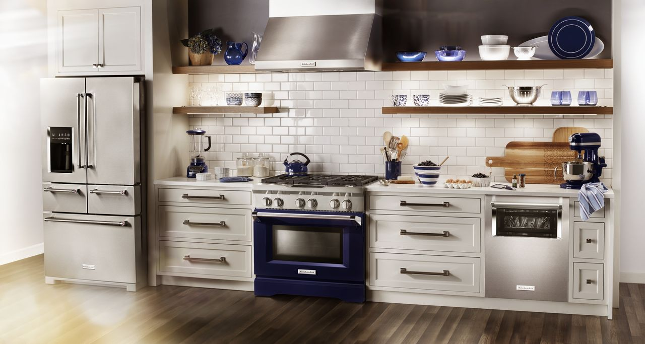 Brighten Your Kitchen with KitchenAid Appliances | Howard ...