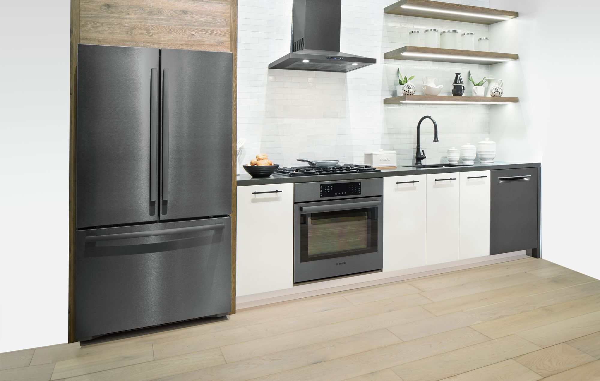 5 Reasons To Get A Black Stainless Steel Kitchen Set From Bosch