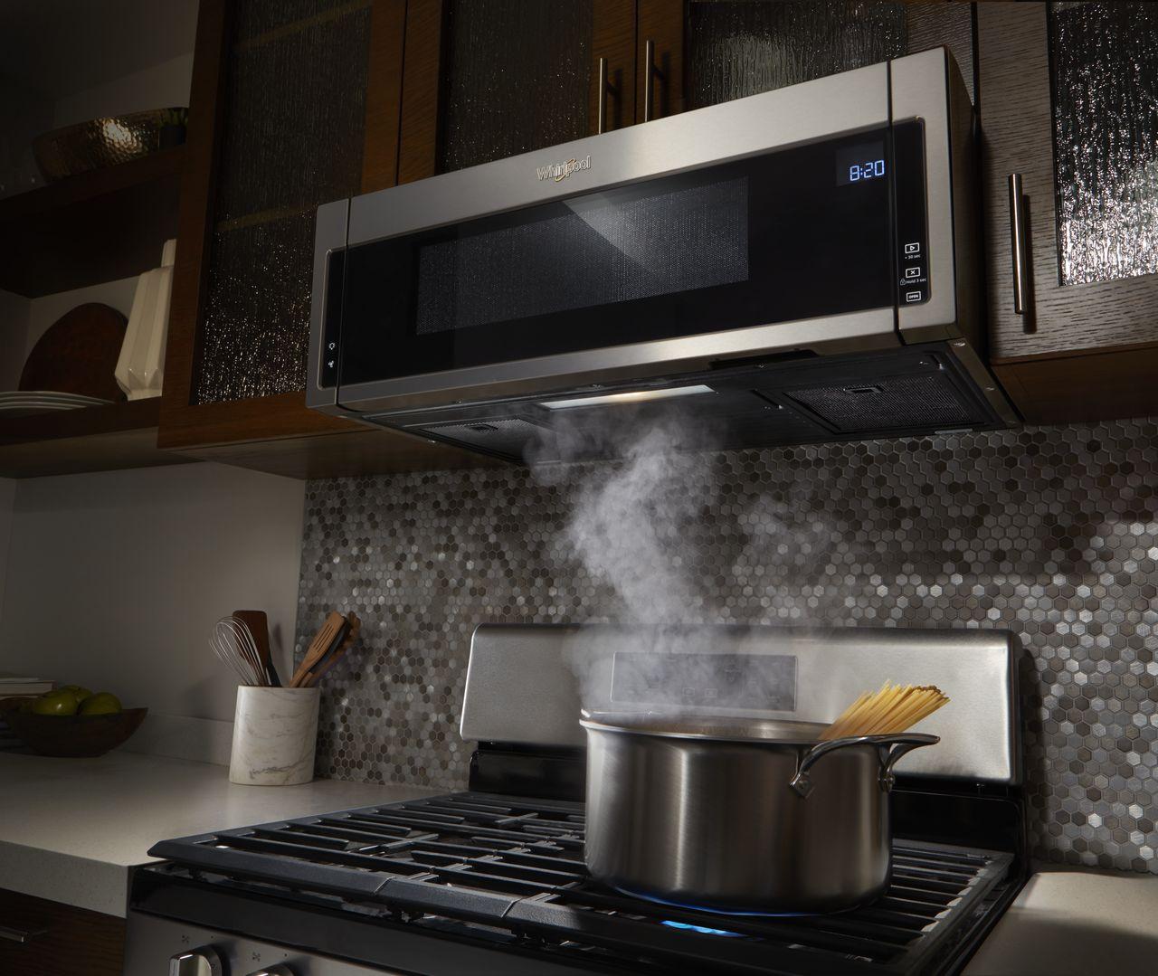 Side Doesn T Always Matter Whirlpool Low Profile Microwave Hood Combo