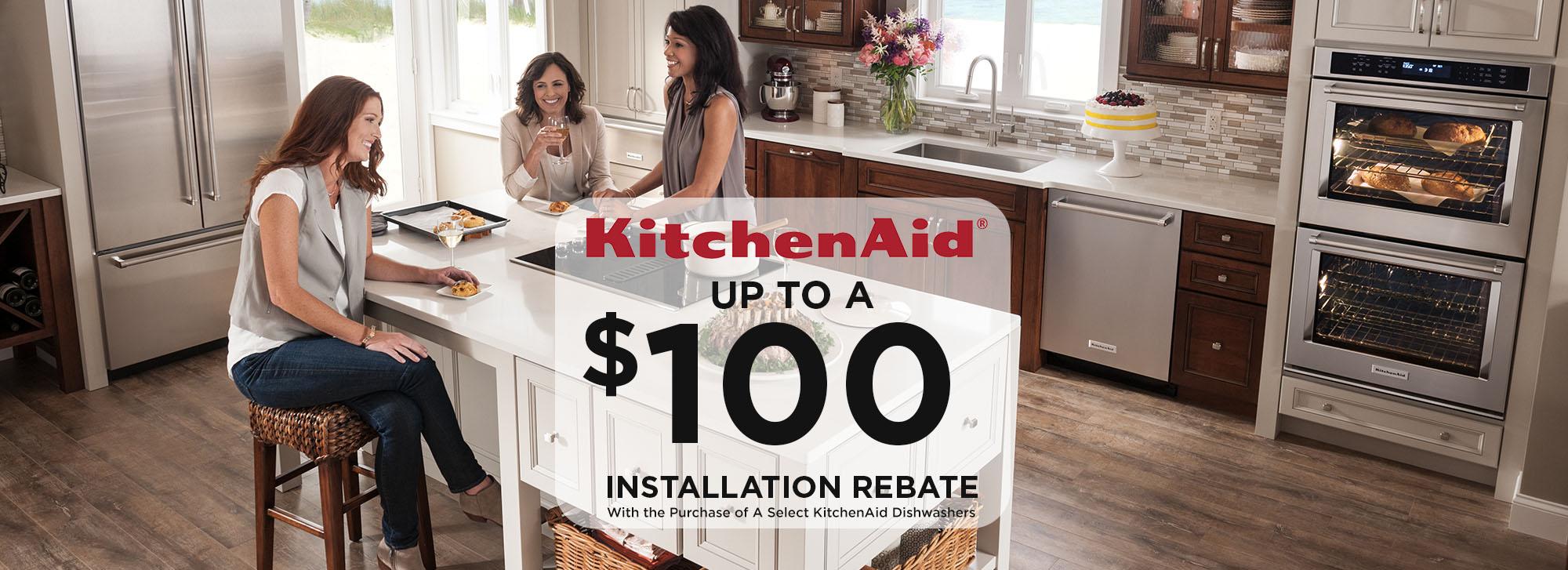 KitchenAid - $100 installation rebate Home Appliance, Kitchen ... on hamilton beach brands, meyer corporation, whirlpool canada, whirlpool corporation, kenwood chef, sunbeam products, amana corporation, kenwood limited,