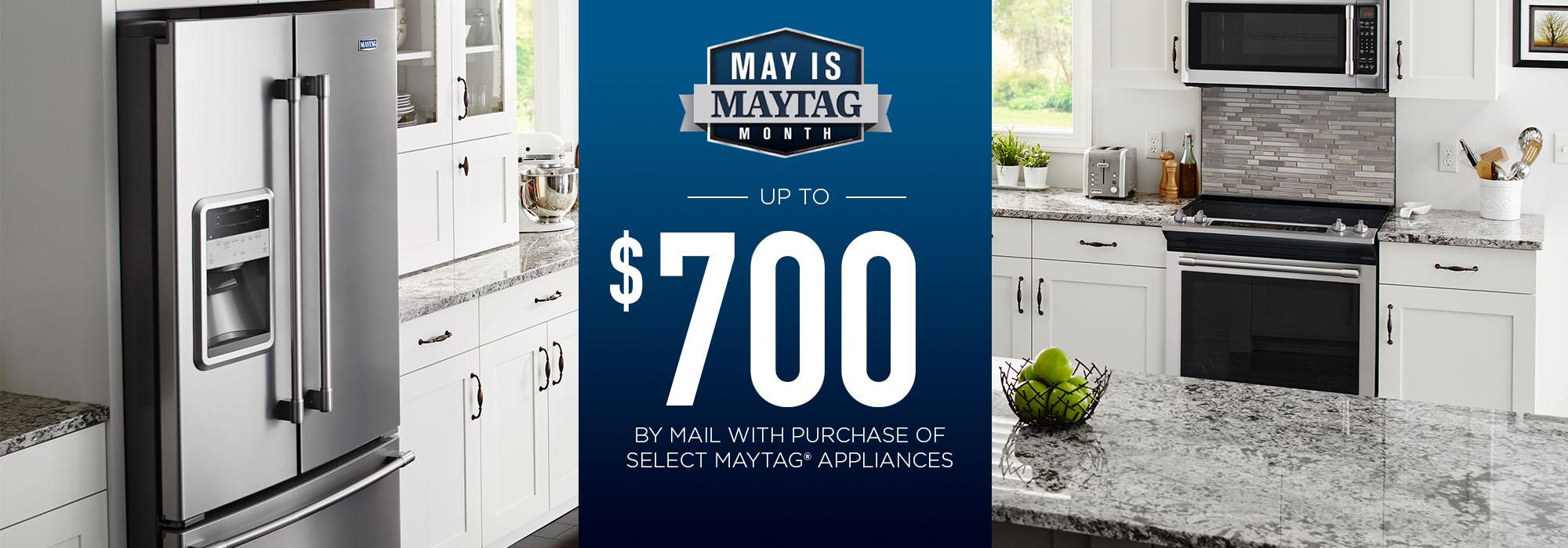 May is Maytag main
