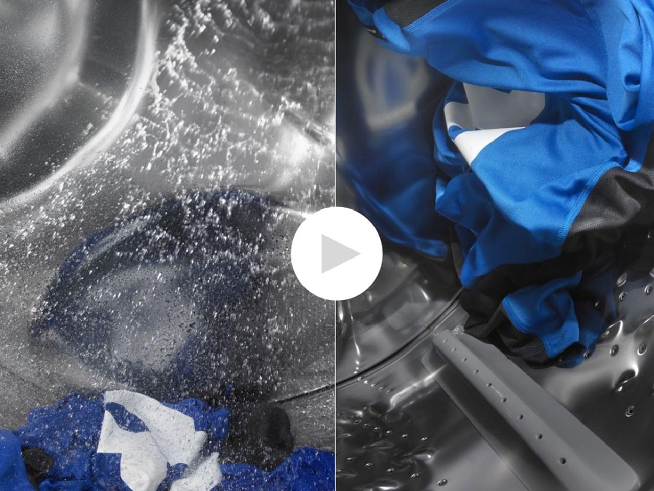 moisture sensing laundry