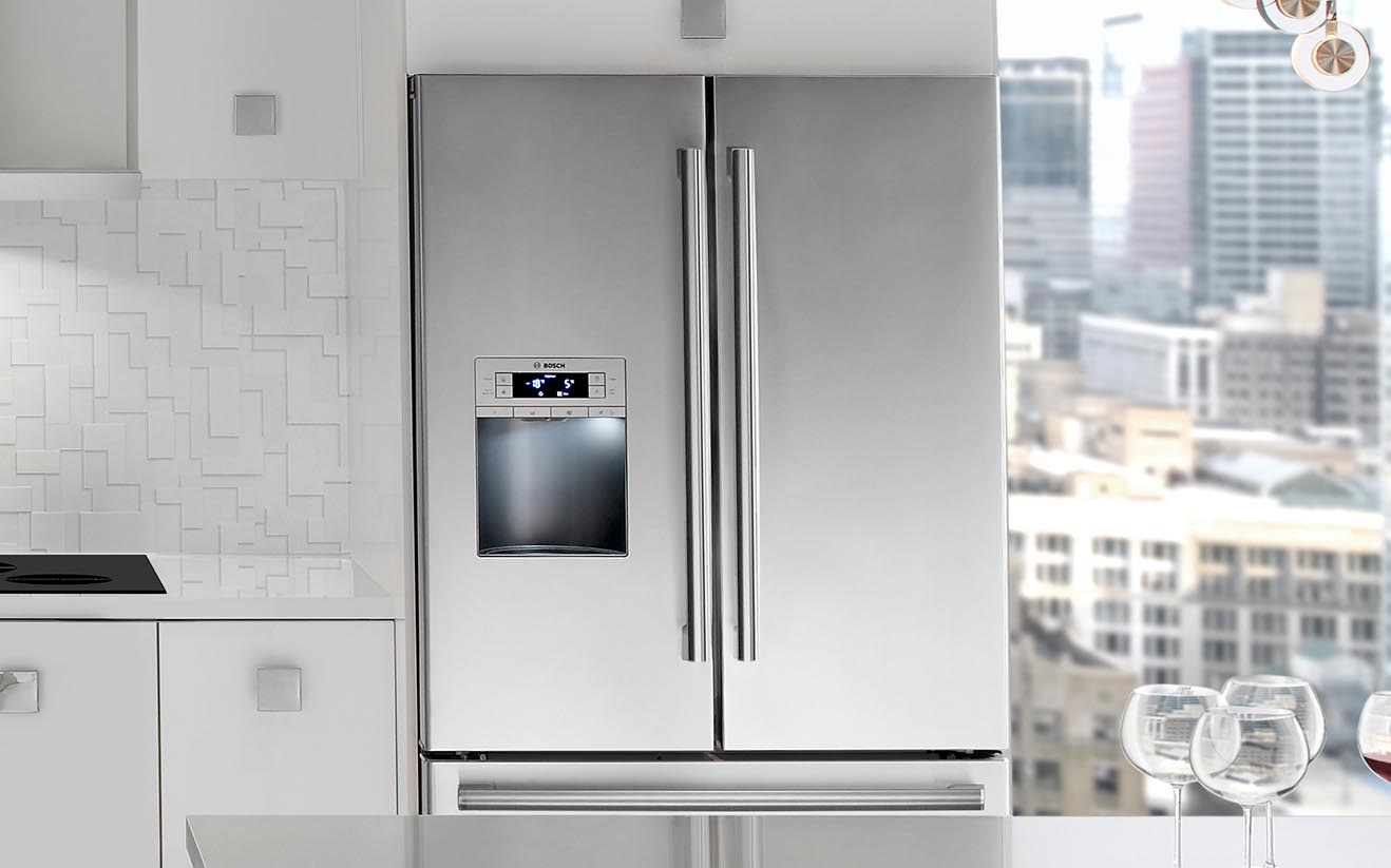 Good Bosch Offers Refrigerators In A Variety Of Sizes And Styles To Integrate  Into Your Kitchen Design. From Our Stylish Counter Depth French Door  Refrigerator, ...