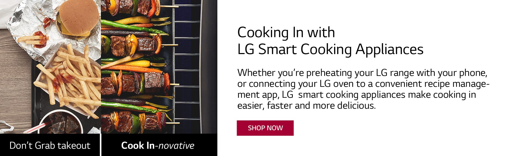 LG Smart Cooking