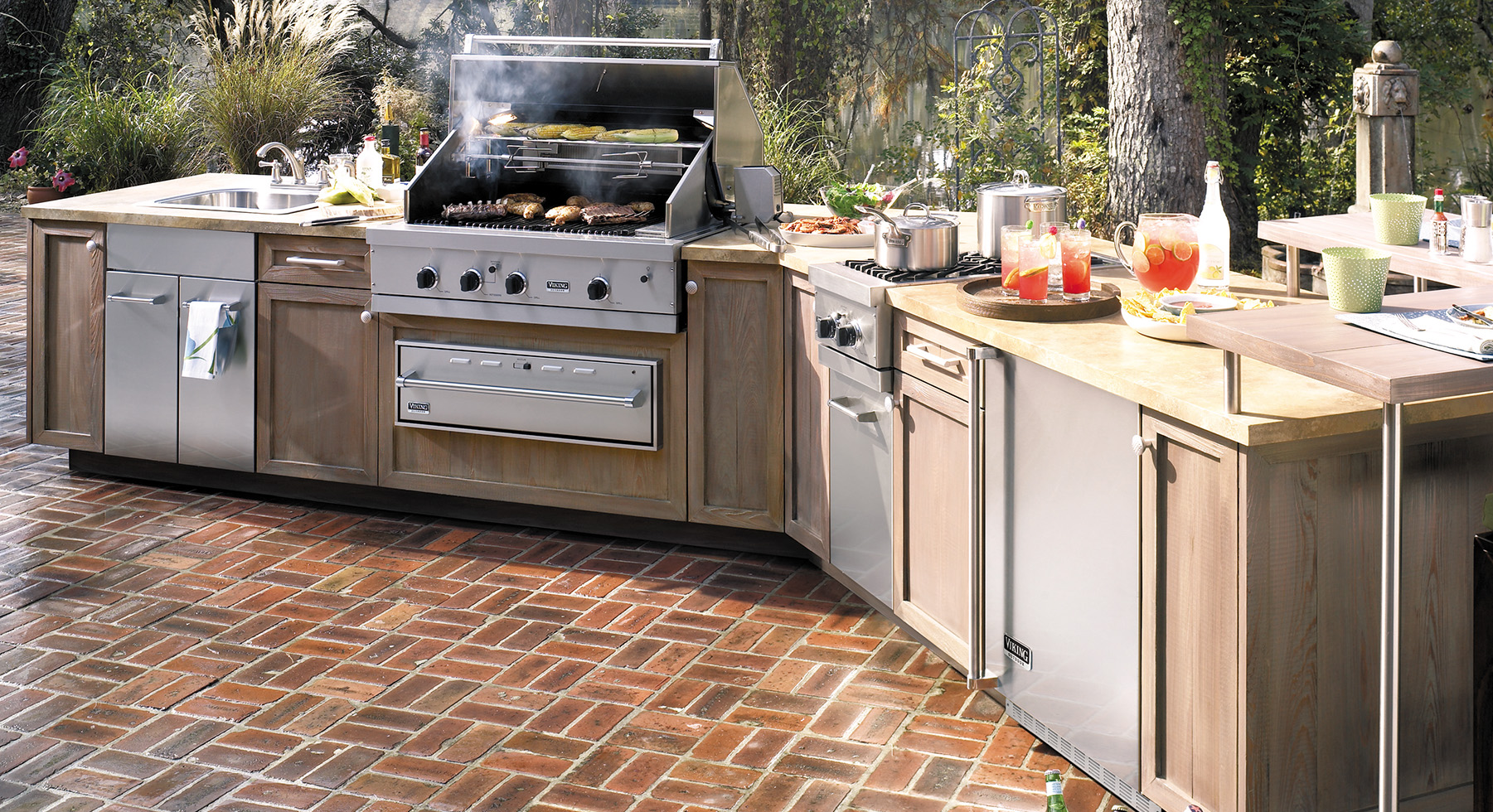 Viking web 3 0 appliance financing appliance service in for Viking outdoor kitchen