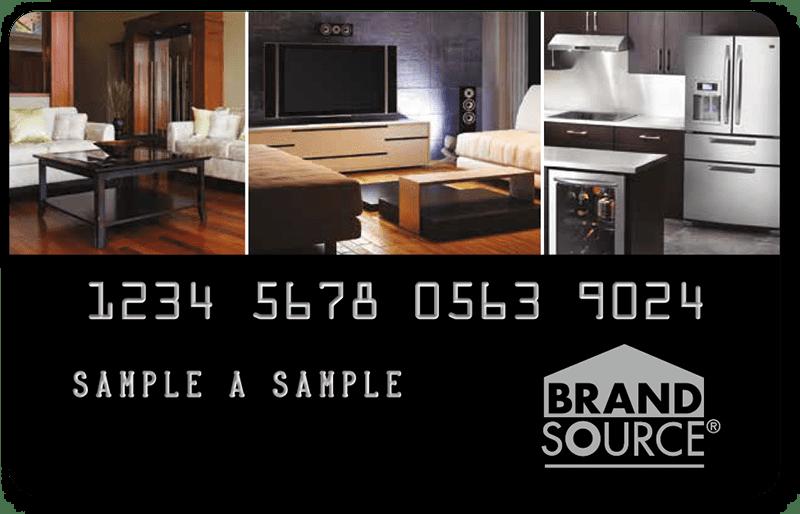 brandsource credit card | wiley's interior furnishings & design