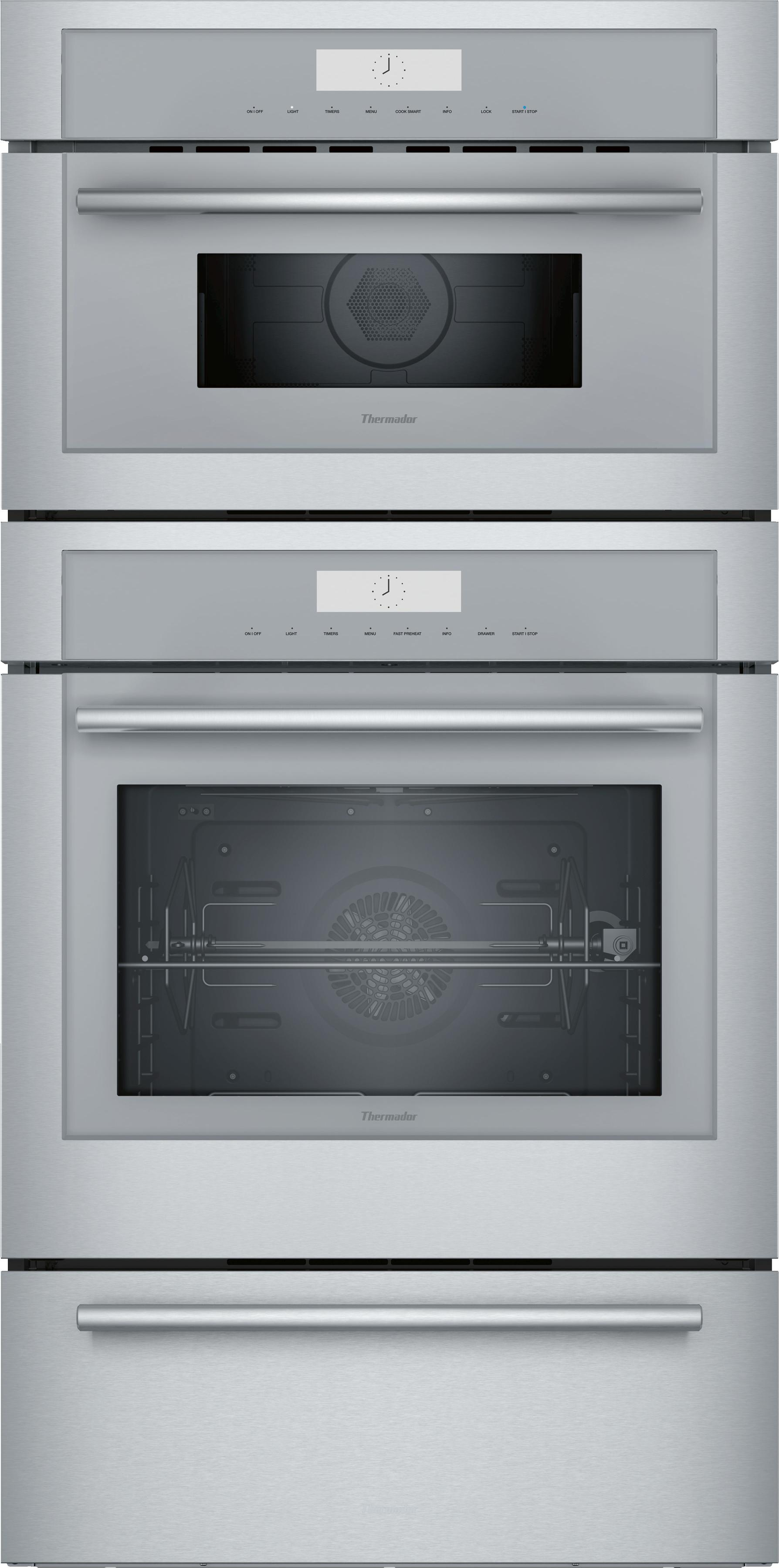 Electric Double Oven Microwave Combo