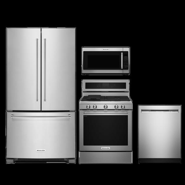 KitchenAid® 4 Piece Kitchen Package-Stainless Steel